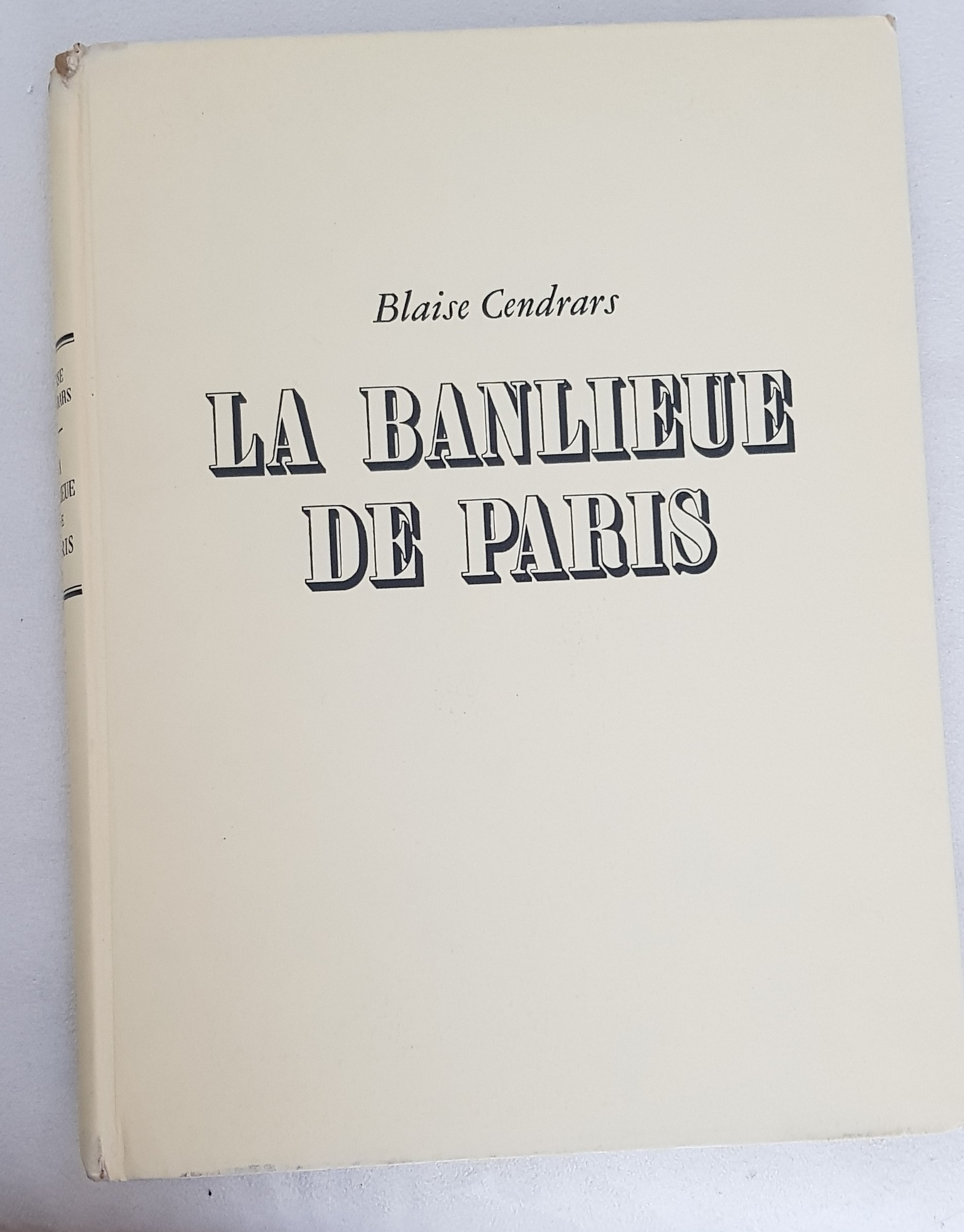 "doisneau, robert -"" la banlieue de paris"". 1949. hardcover. with dustjacket"