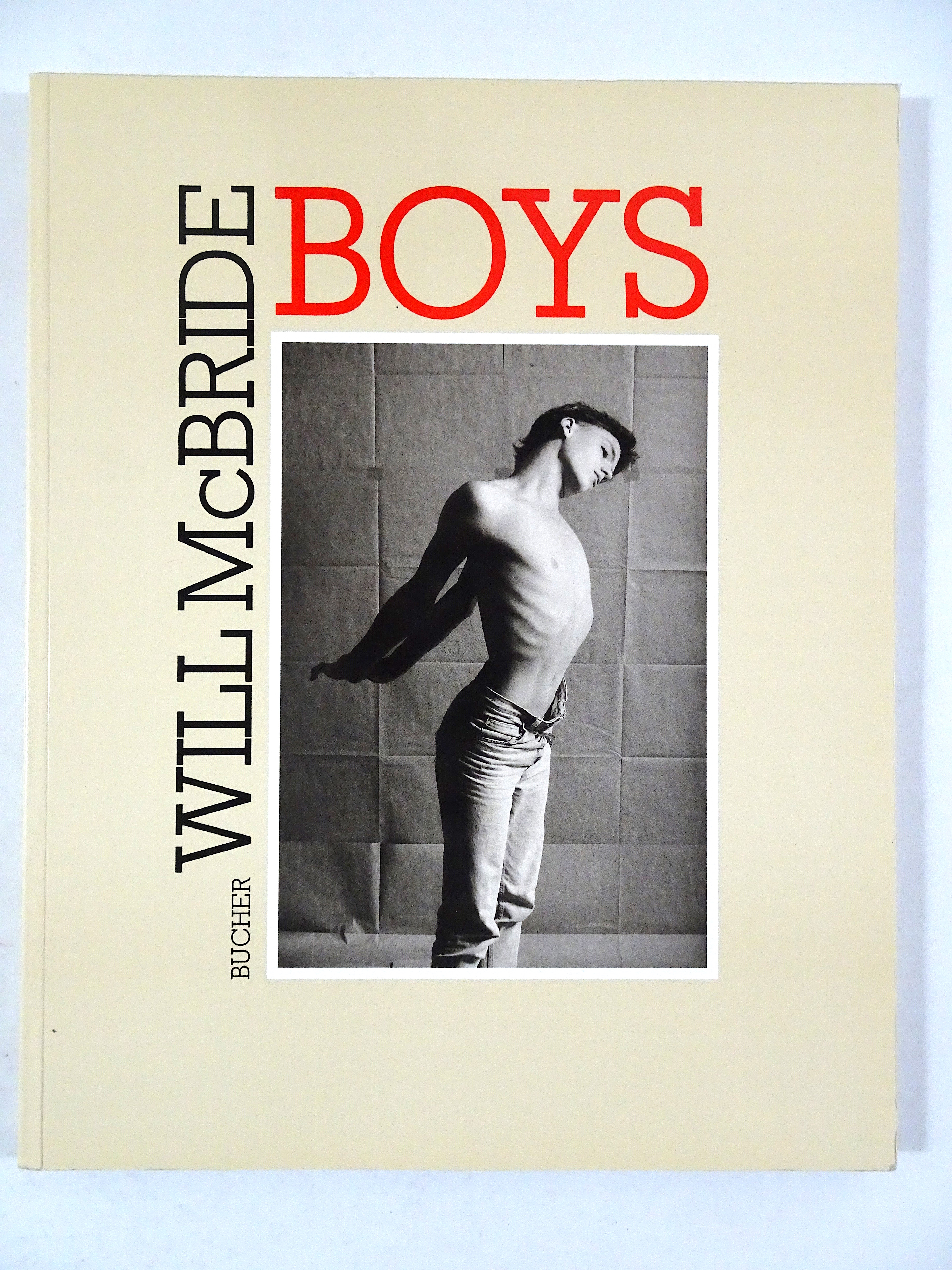Will McBride. Boys. 1986. Signed. Mint. First printing.