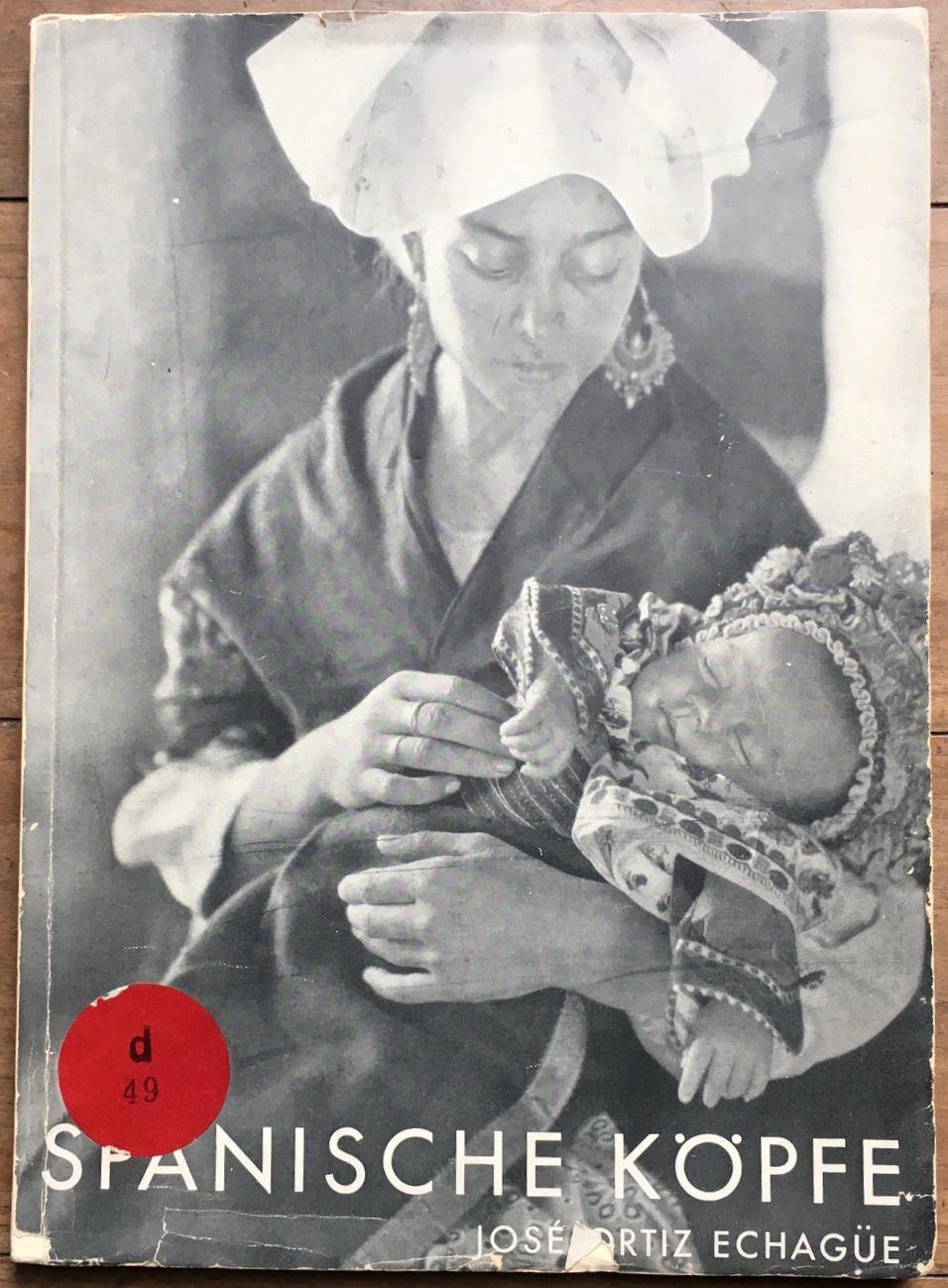 echagüe, josé ortiz  - spanische köpfe. 1929. paperback with dustjacket