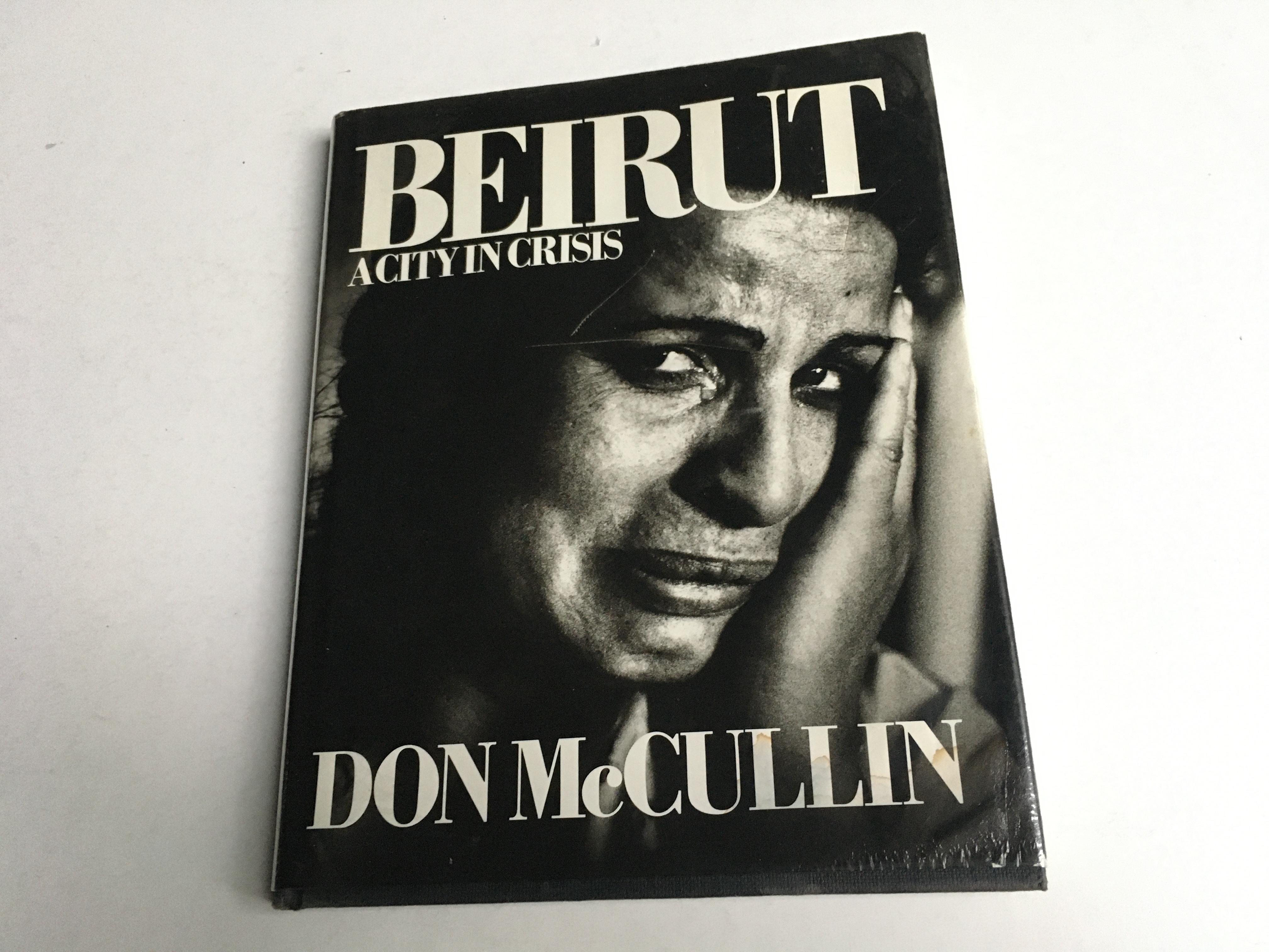 mccullin, don - beirut. 1965. hardcover mit schutzumschlag